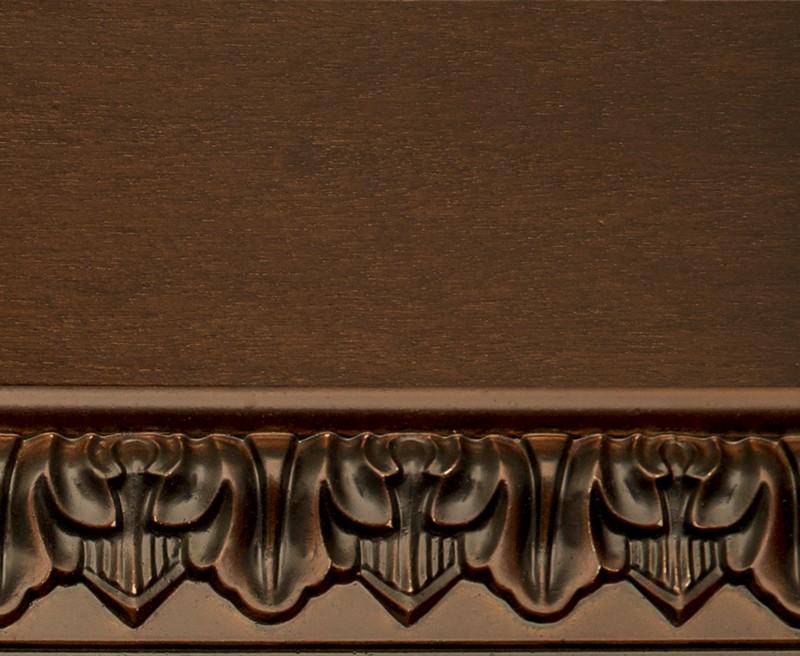 Тон 10/Пч. Тонировка II категории: краситель темный орех, патина черная