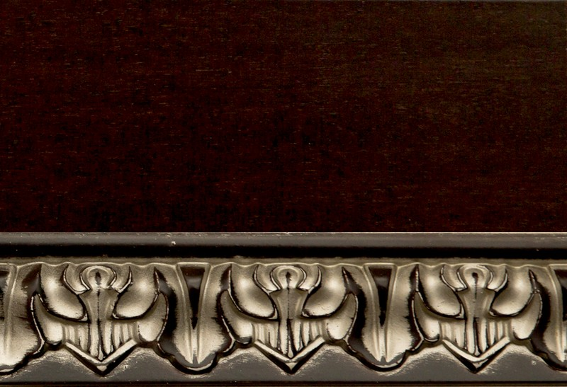 Тон 15/Пс. Тонировка II категории: краситель венге, патина серебро